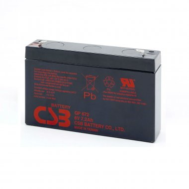 CSB GP672F1 VRLA Battery