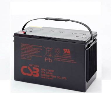 CSB GPL121000 VRLA Battery