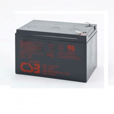CSB GPL12120 F2 VRLA Battery