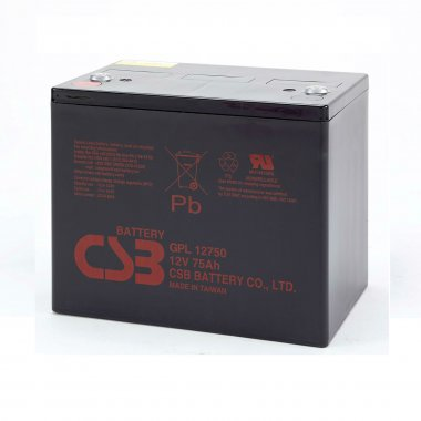 CSB GPL12750 VRLA Battery