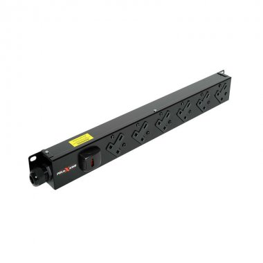 6 Way Vertical PDU - 13A UK Outlets