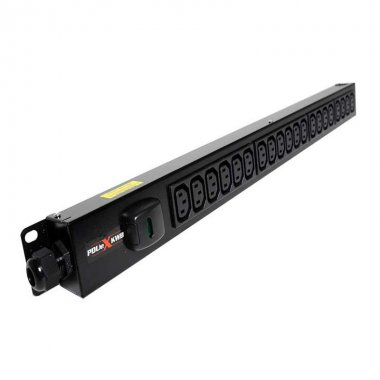 20 Way Vertical Slimline PDU - C13 IEC Outlets