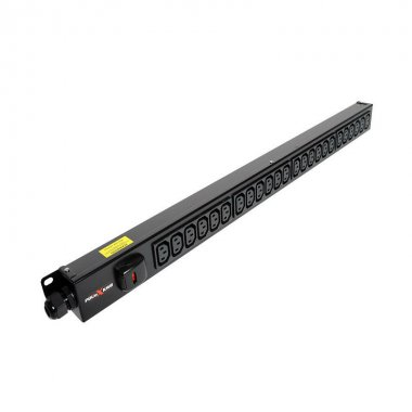 24 Way Vertical Slimline PDU - C13 IEC Outlets