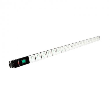 16 Way Vertical Slimline PDU - Schuko Outlets