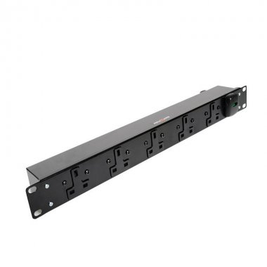 5 Way 1U Horizontal Slimline PDU - 13A Outlets