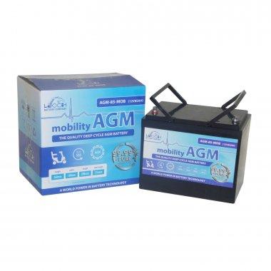 85Ah mobility batteries sold in pairs