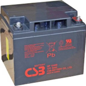 CSB GP12400 VRLA Battery
