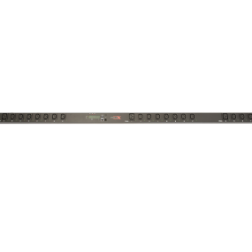 Vertical Rack IP PDU C20 Plug 21 x C13 out 3 x C19 out