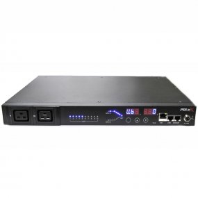 Remote monitored, Rack Mount Automatic Transfer Switch ATS C20 in 8 x C13 out