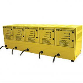 Beta Multi-bank five way battery charger 6volt 2amp