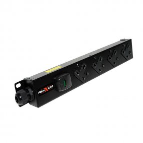 4 Way Vertical Slimline PDU - 13A UK Outlets