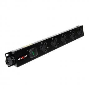 5 Way Vertical Slimline PDU - 13A UK Outlets