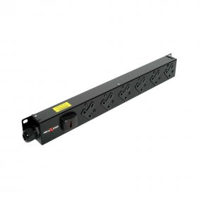 6 Way Vertical Slimline PDU - 13A UK Outlets