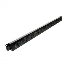 12 Way Vertical Slimline PDU - 13A UK Outlets