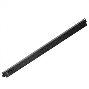 16 Way Vertical Slimline PDU - 13A UK Outlets