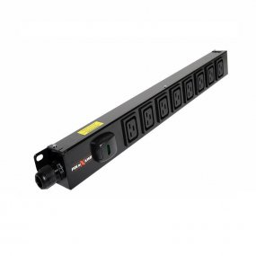 8 Way Vertical Slimline PDU - C19 IEC Outlets