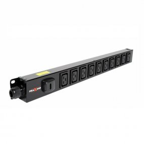 10 Way Vertical Slimline PDU - C19 IEC Outlets