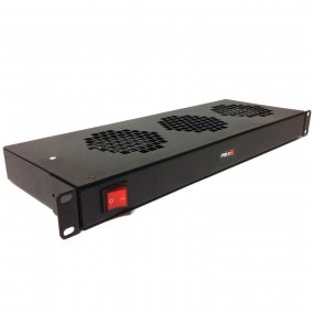1U Horizontal 2 or 3 Way Fan Tray