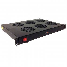 1U Horizontal 4 or 6 Way Fan Tray