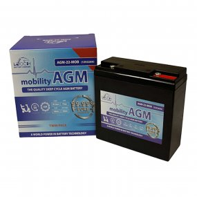 Mobility Vehicle Battery 12volt 22Ah