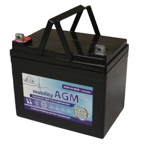 Mobility Vehicle Battery 12volt 34Ah