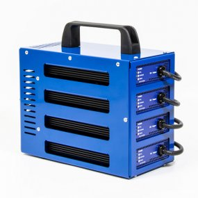 4 output 12v 10Amp Battery charger