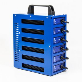 6 output 12v 10Amp Battery charger