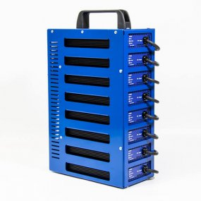 8 output 12v 10Amp Battery charger