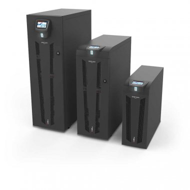 The three sizes of Sentryum UPS